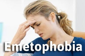 Fear of vomiting emetophobia