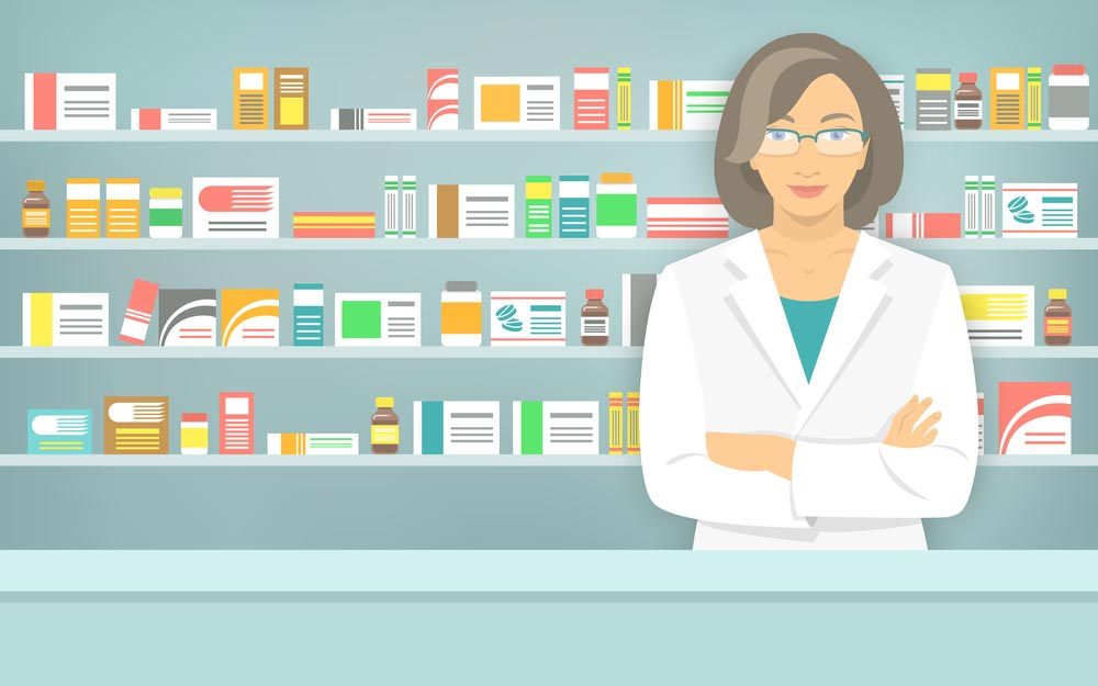 asking your pharmacist about medications