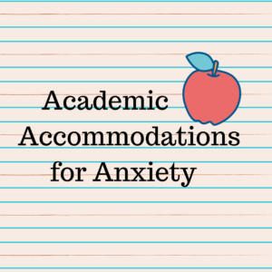 school accommodations for children with anxiety