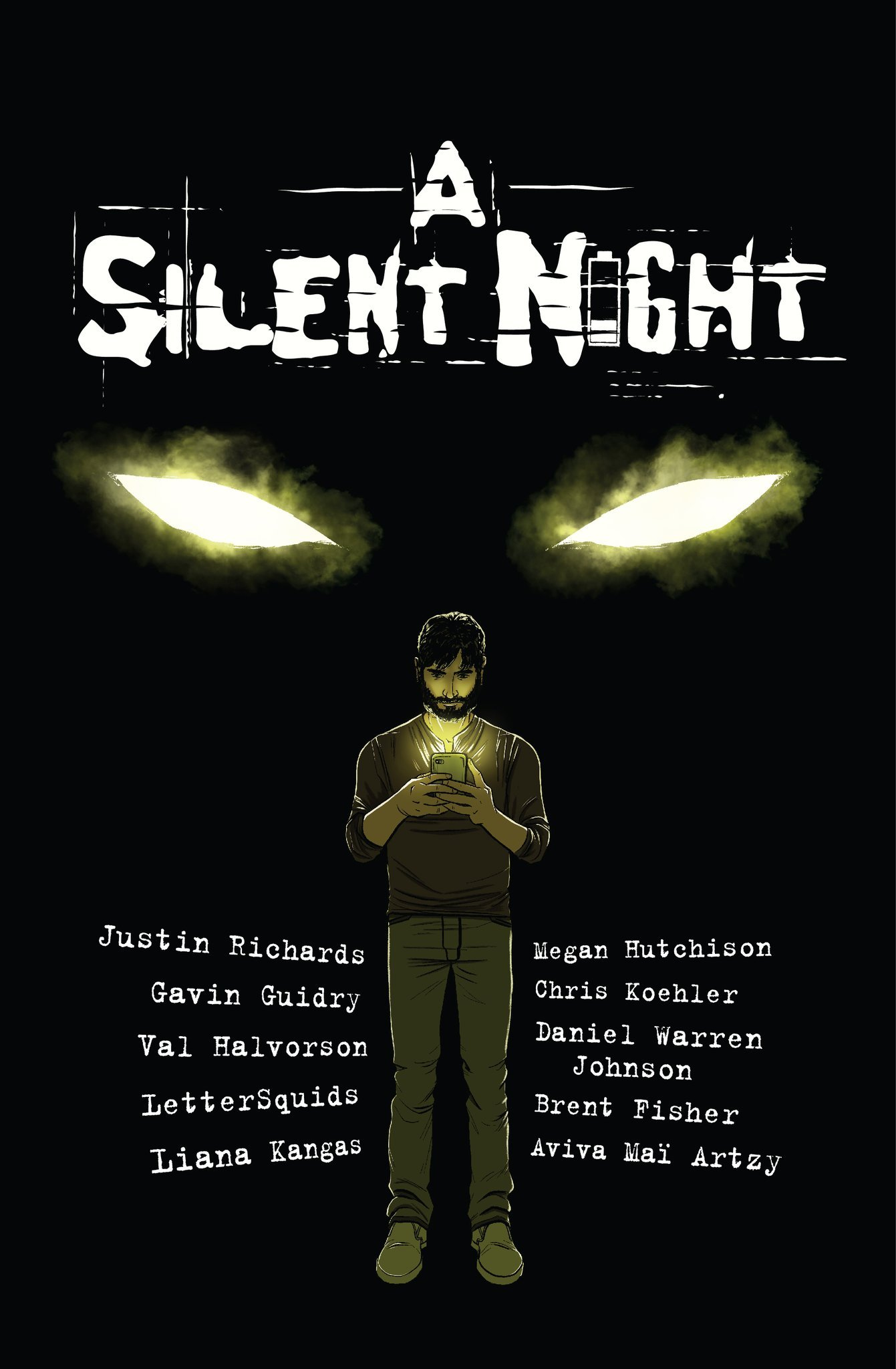 Comic Book Cover - A Silent Night