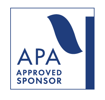 APA logo for CE sponsorship