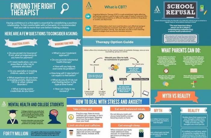 adaa infographics anxiety and depression association of america adaa