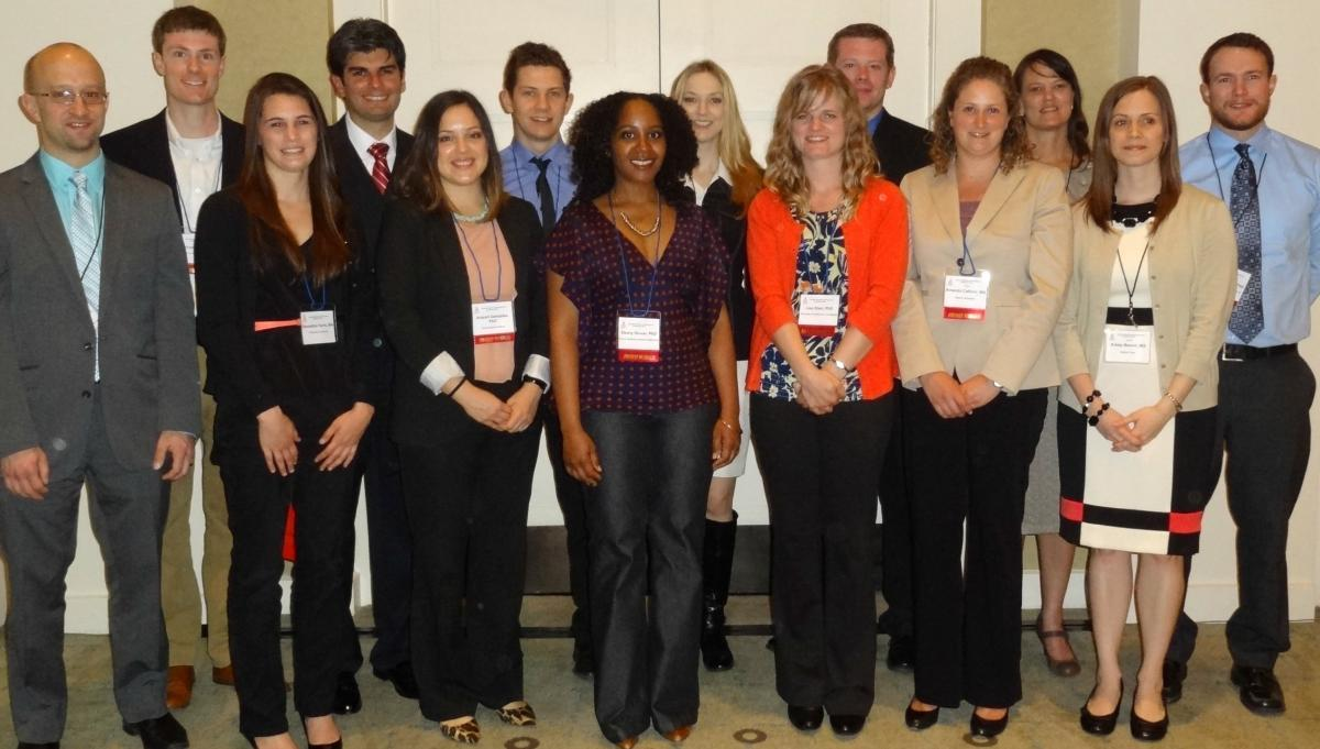 Career Development Travel Award winners 2013