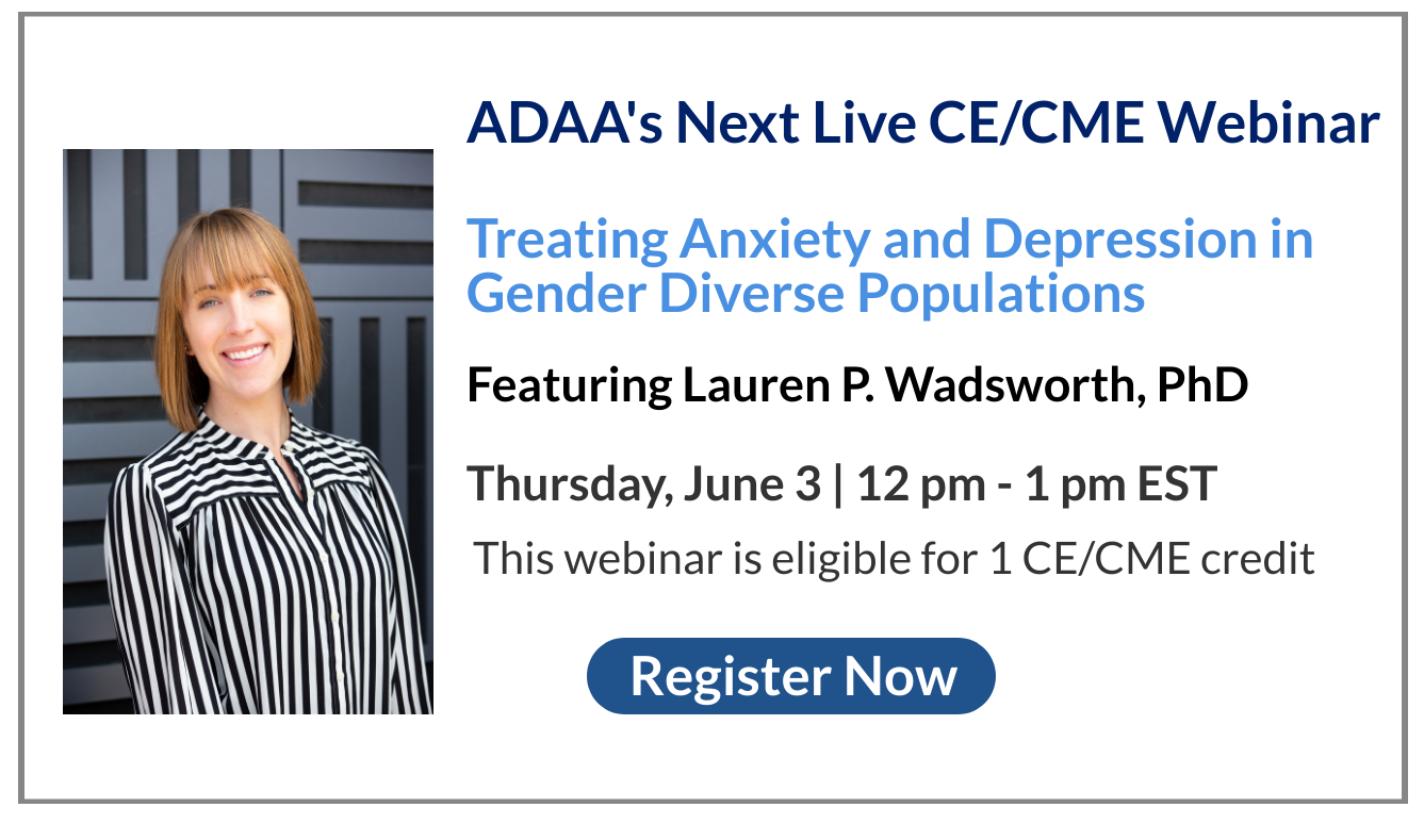 June Featured Professional Webinar featuring Lauren P. Wadsworth, PhD