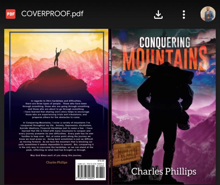 Charles Phillips Conquering Mountains